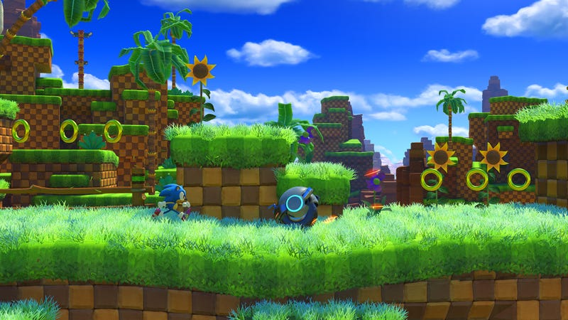 Illustration for article titled Green Hill Zone's Looking Good In Sonic Forces