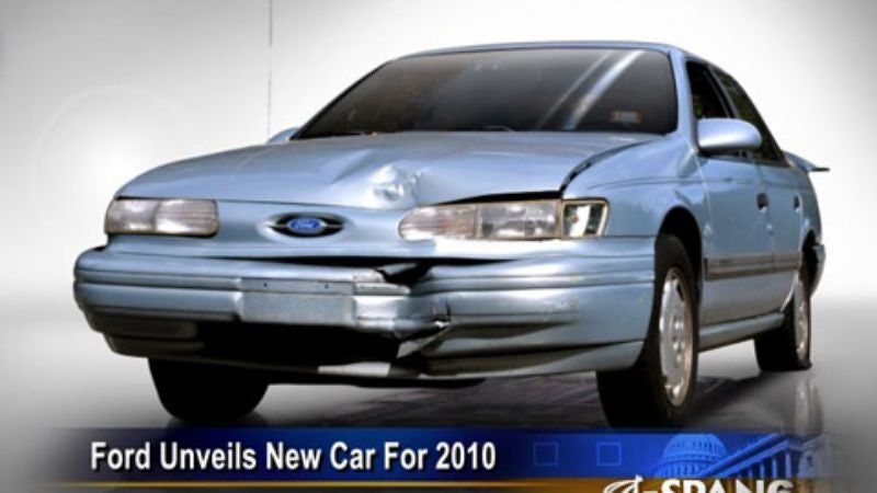 & Ford Unveils New Car For Cash-Strapped Buyers: The 1993 Taurus markmcfarlin.com