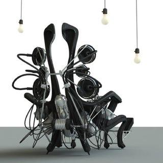 Illustration for article titled Autonomous Living Unit Crams An Entire Home Into a Chair
