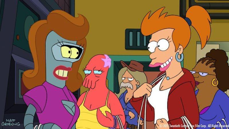 """Illustration for article titled Futurama: """"Law & Oracle"""""""