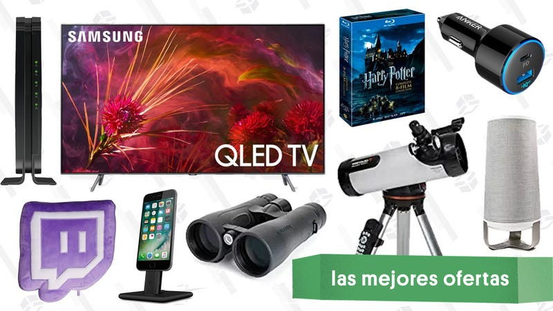 Illustration for article titled Las mejores ofertas de este viernes: Televisores QLED, Prime Pantry, módem de Netgear y más