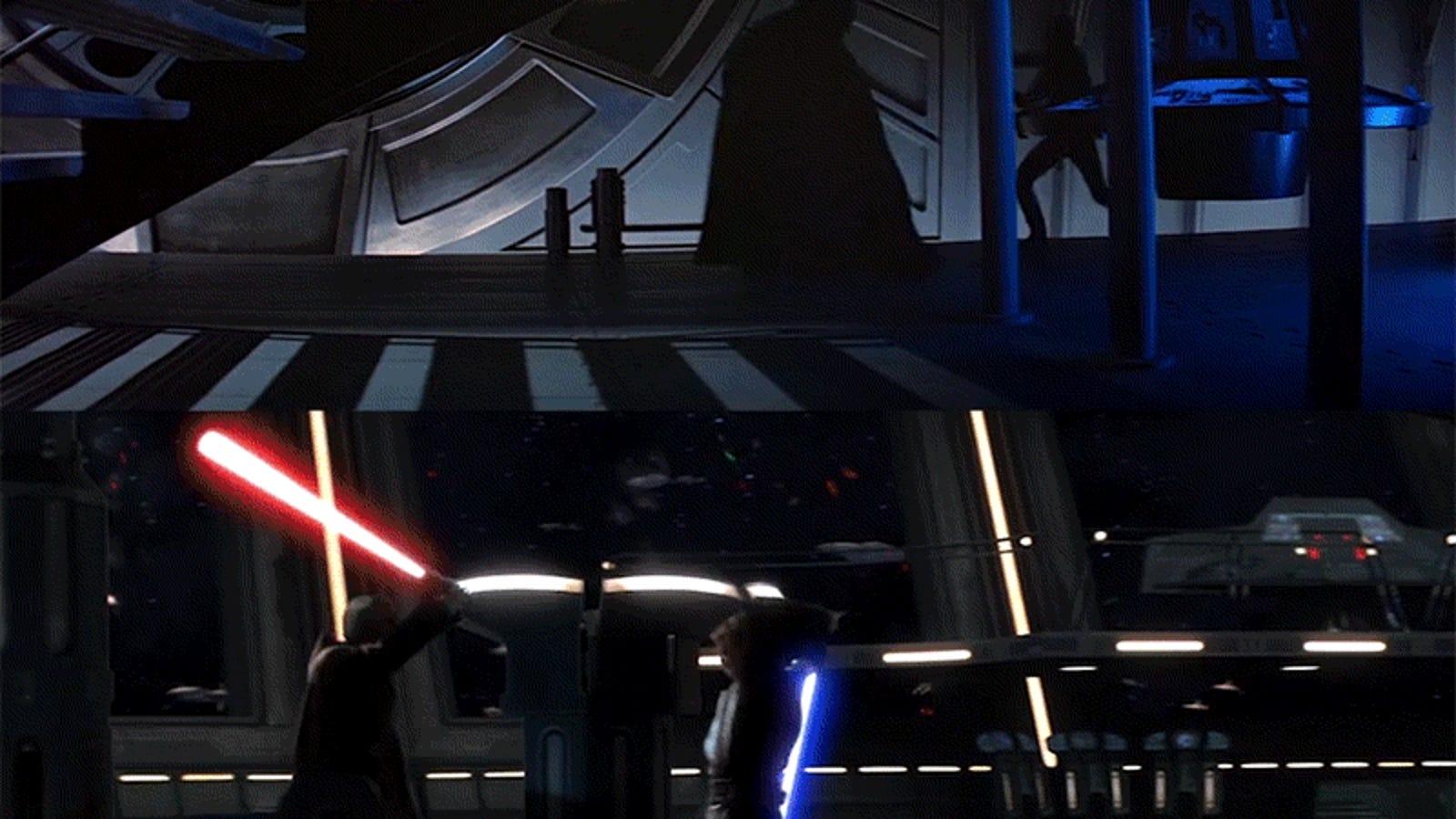 La fascinante simetría que hay entre las dos trilogías de Star Wars