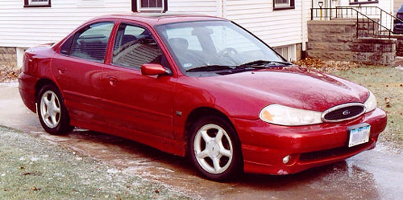 Performance Car Focus 1998 Ford Contour SVT