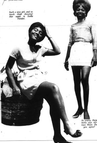 African women sporting miniskirts in Drum magazine, 1969Courtesy of Tanisha Ford