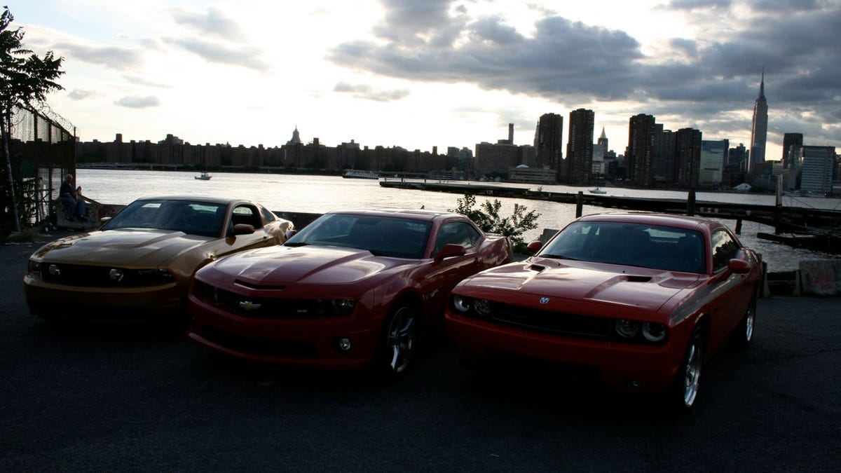 Muscle Car Wars: Camaro vs. Challenger vs. Mustang