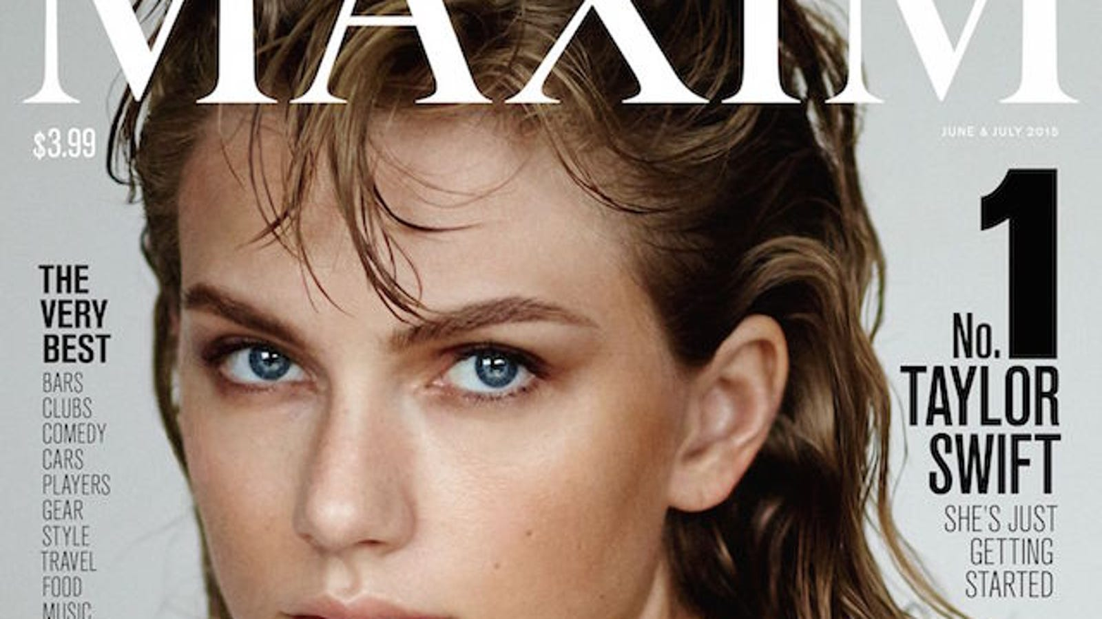 Taylor Swift Declared Maxims Hottest Woman Shakes It Off
