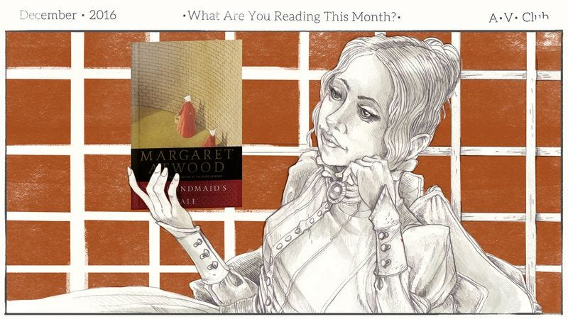 Illustration for article titled What are you reading in December?