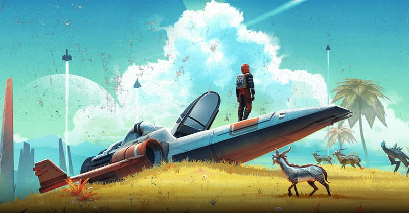 Illustration for article titled Massive No Man's Sky Update Adds Basic Multiplayer