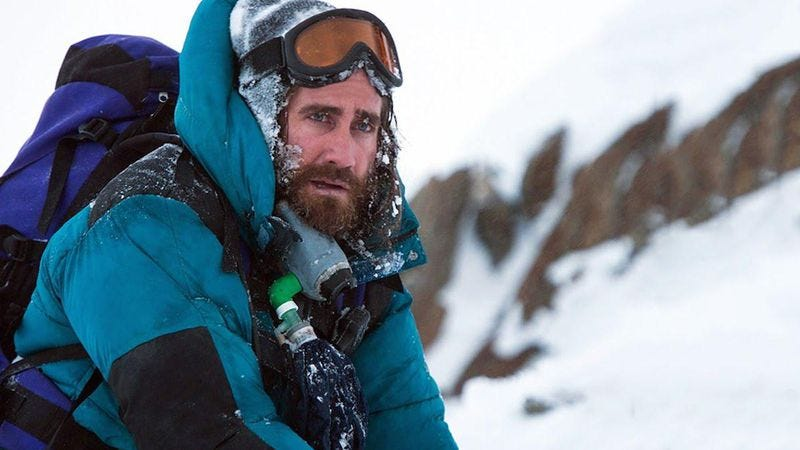 Illustration for article titled Chicago, watch Jake Gyllenhaal and more climb Everest in Imax early and for free