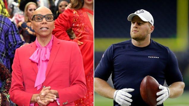 RuPaul and very large football man J.J. Watt to host SNL next month