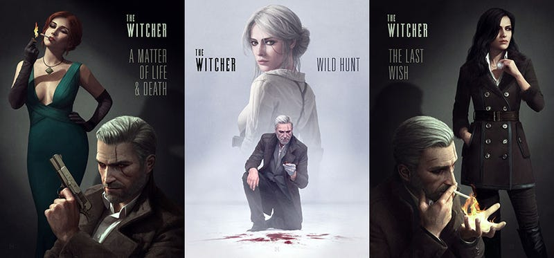 The Witcher 3 And Nintendo Games Are Just Pulp Fiction