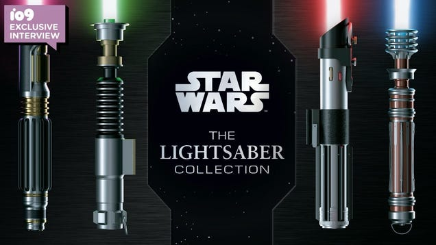 The Story Behind the Ultimate Star Wars Lightsaber Book