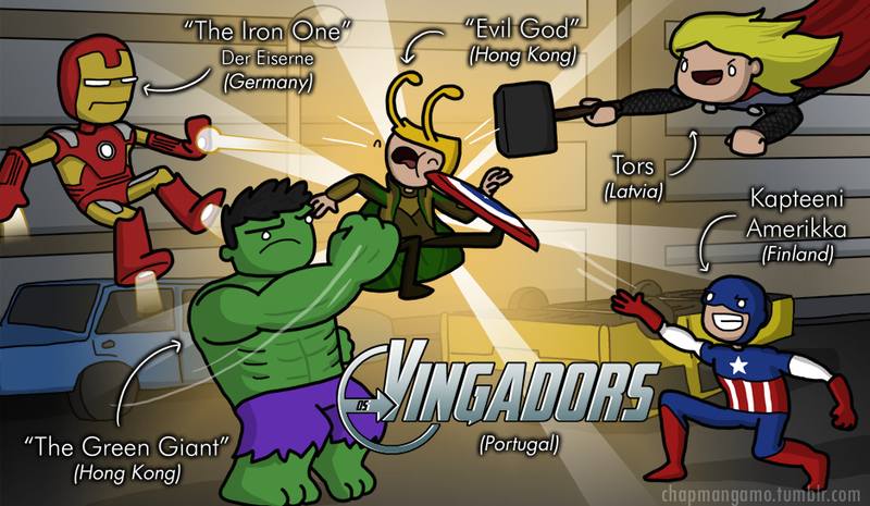 Illustration for article titled What Marvel Characters End Up Being Called In Other Languages