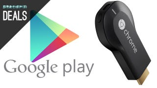 Illustration for article titled $40 in Google Play Credit with a Chromecast, and a Lot More Deals