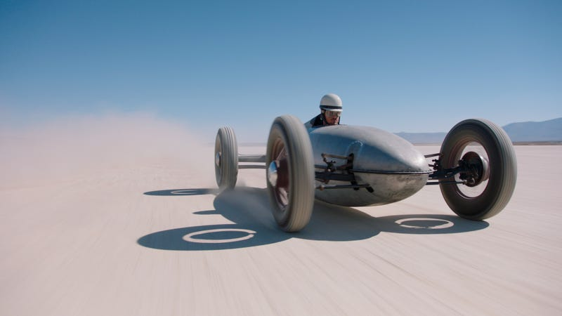 Illustration for article titled Become a '50s Speed Demon With This Flathead-powered Belly Tanker