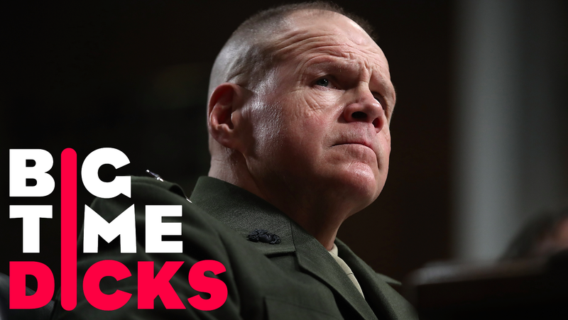 Marine Commandant Robert Neller testifies before the Senate Armed Services Committee on Capitol Hill March 14, 2017. Image via Getty.