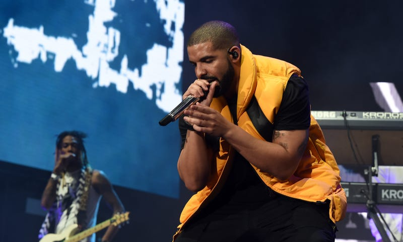 Drake performs during day 2 of the Coachella Valley Music and Arts Festival at the Empire Polo Club on April 15, 2017, in Indio, Calif. (Kevin Winter/Getty Images for Coachella)