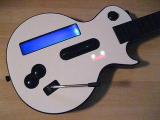 Turn Your Guitar Hero Guitar Into a MIDI Controller