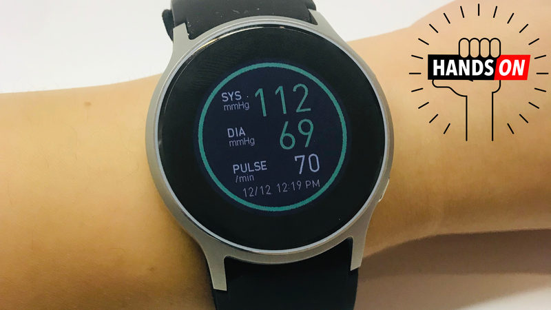 This Blood Pressure Smartwatch Makes Way More Sense Than the Apple Watch