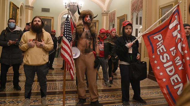 It s Apparently Very Easy to Riot in the Capitol When You re a Trump Supporter: Updating