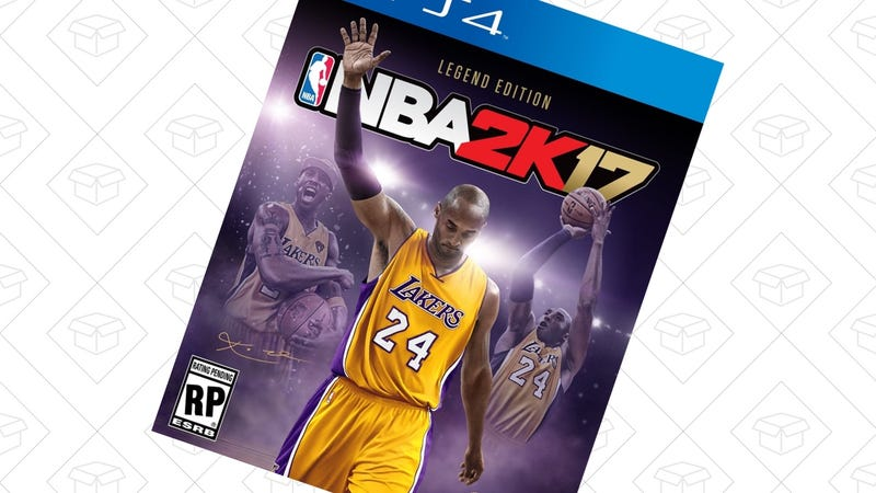 NBA 2K17 Legend Edition, $64 for Prime members. Discount shown at checkout.