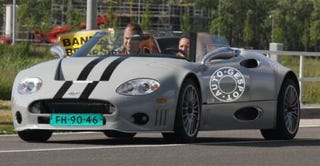 "Illustration for article titled Spyker C8 Aileron Spotted Testing Upgraded Body, ""Dutchiness"""