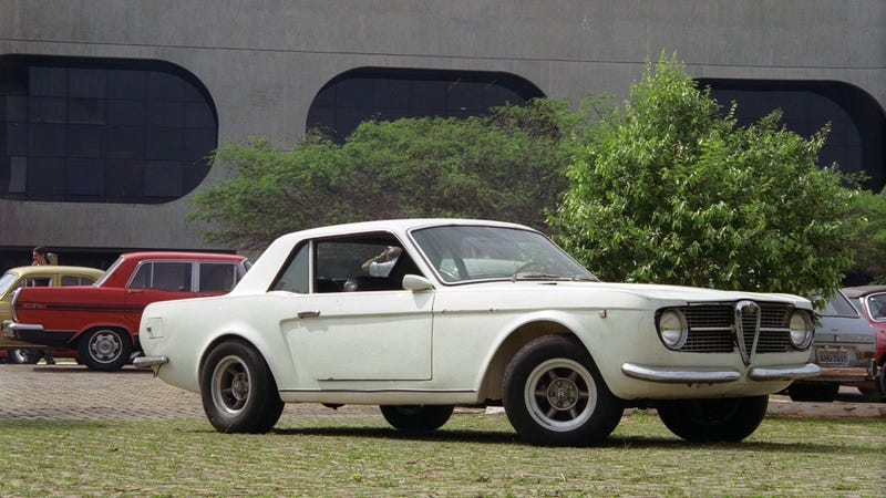 Illustration for article titled Brazilian Alfa Romeo Made A Mustang And Other Terrific Bad Cars