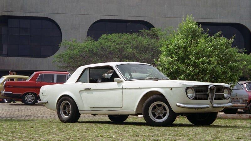 Illustration for article titled Brazíliában az Alfa Romeók Mustangok