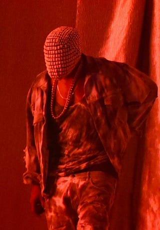 Kanye West performs at the Bonnaroo Music & Arts Festival June 13, 2014, in Manchester, Tenn.Jason Merritt/Getty Images