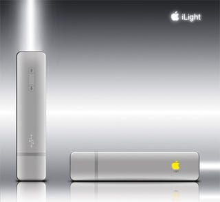 Illustration for article titled If Apple Designed a Flashlight...