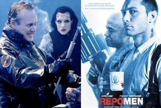 "Illustration for article titled Repo! Opera Director Is ""Not Happy"" About Universal's Copycat Repo Men"