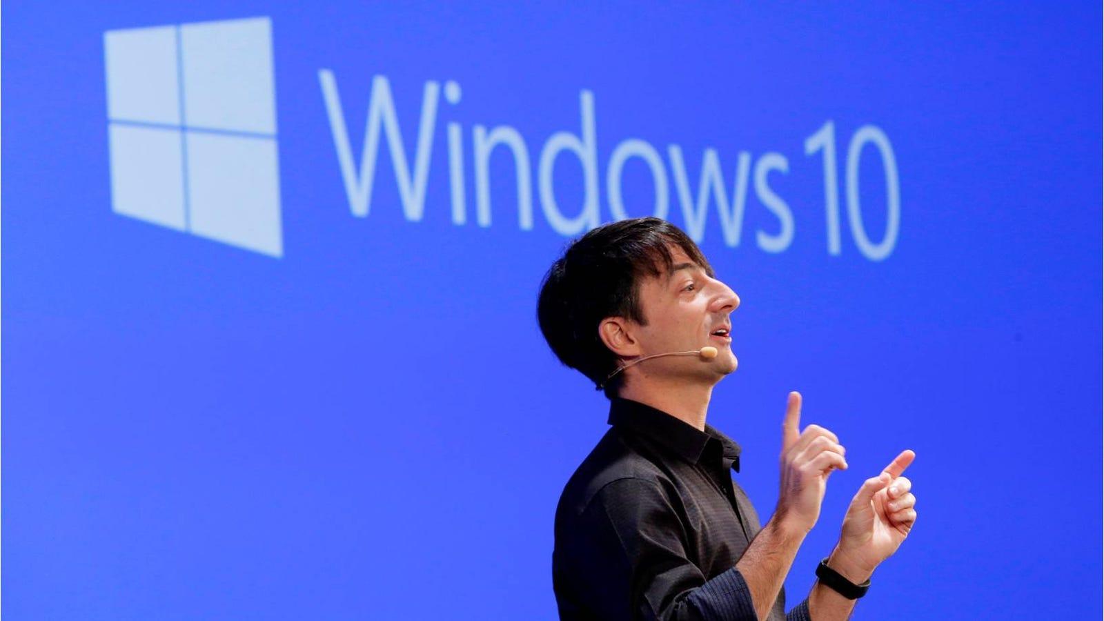 Windows 10: cuando una rectificación a tiempo es una gran victoria