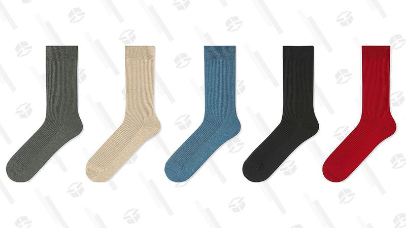 Men's Color Socks | 7 Pairs for $10 | Uniqlo