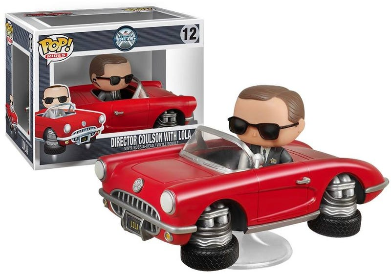 Illustration for article titled The Cutest Agent Coulson Figure Comes With A Sweet Ride