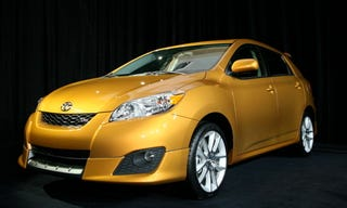 Illustration for article titled 2009 Toyota Matrix Unveiled...and Pimped