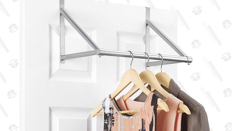 Whitmor Over-the-Door Hanging Rack | $8 | Amazon