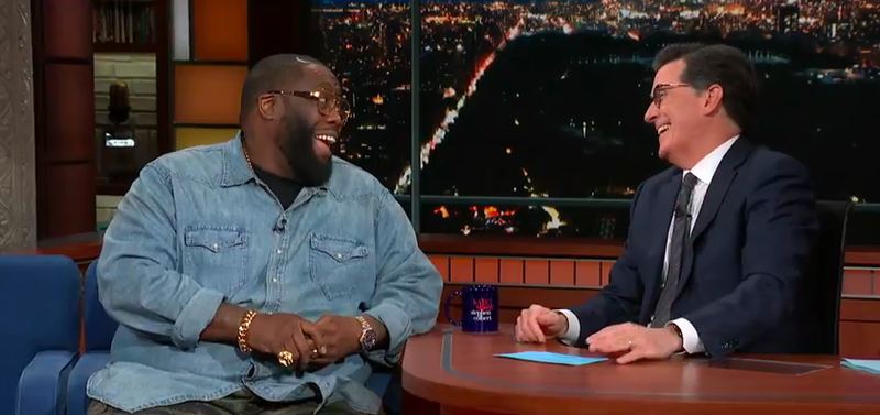 Killer Mike, Stephen Colbert