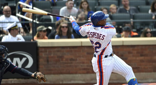 Report: Yoenis Cespedes To Opt Out Of His Mets Contract