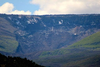 Illustration for article titled Initial Report: Grand Mesa Landslide