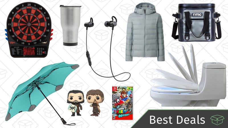 Illustration for article titled Wednesday's Best Deals: Toys and Games Galore, RTIC Coolers, Blunt Umbrellas, and More