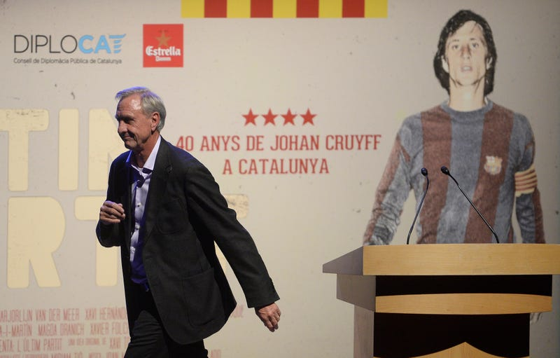 Illustration for article titled Johan Cruyff, The Man Who Invented Modern Soccer, Dies At 68