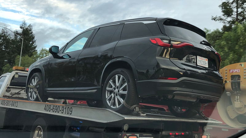 Illustration for article titled Electric SUV From Cash-Flush Chinese Startup NIO Spotted On Road Before Its Reveal (UPDATED)