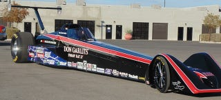Illustration for article titled A Drag Racing Icon Just Set a 184 MPH World Record for Electric Cars