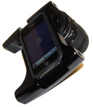 Illustration for article titled It Happened: An iPhone SLR Lens Mount
