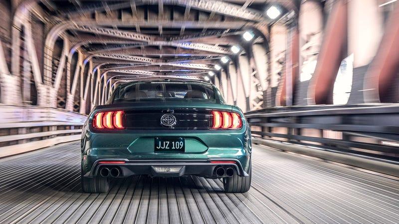 Photo Ford The 2019 Mustang Bullitt
