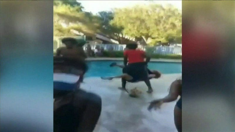 Florida teen who threw woman into pool arrested