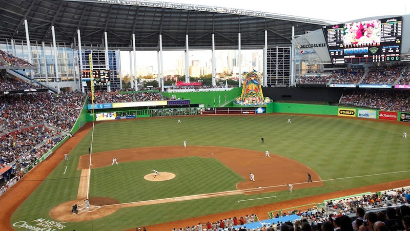 Illustration for article titled The Real Cost To Miami For Marlins Park Is In The Billions