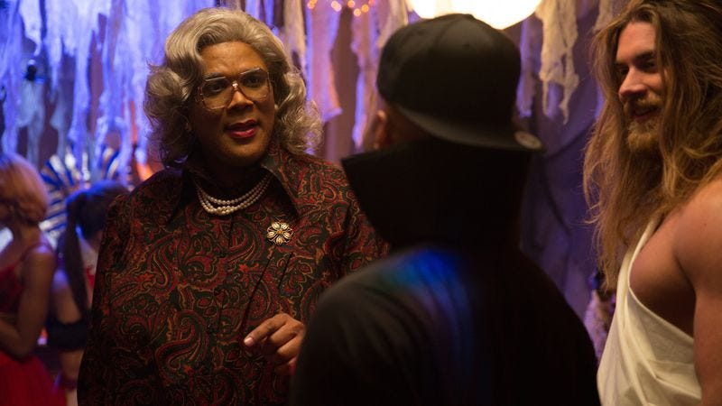 Boo! A Madea Halloween fears young people