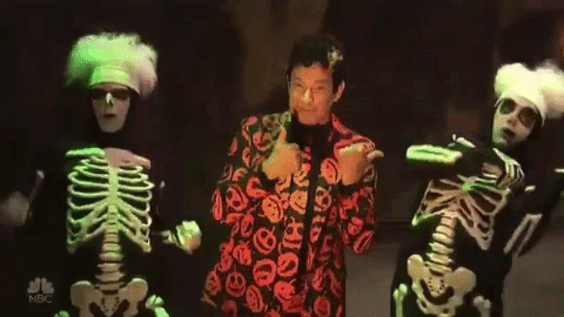 Let's CelebrateSNL's David S. Pumpkins, the New Halloween GIF