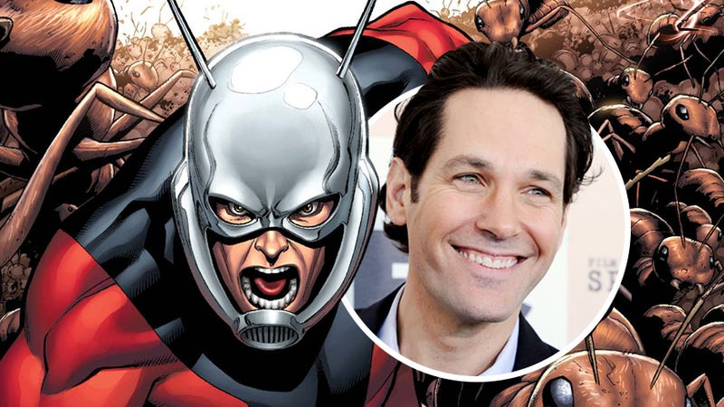 Illustration for article titled Take that, Morning Spoilers!: Rudd is in talks to be Ant-Man